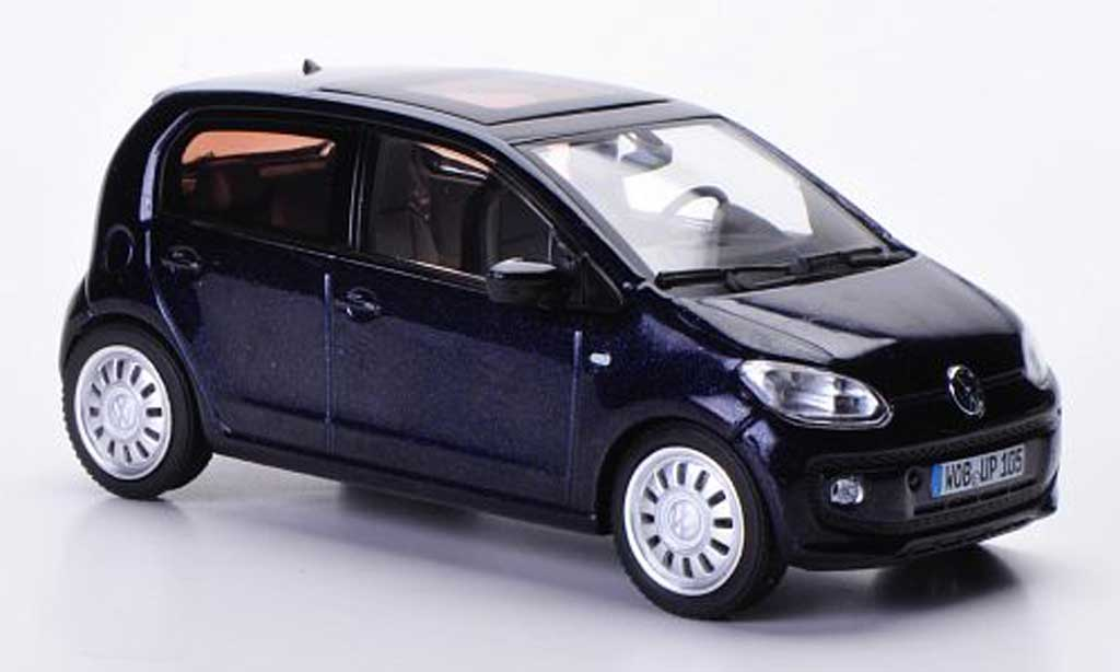 Volkswagen UP! 2011 1/43 Schuco bleu Funfturer 2011 miniature