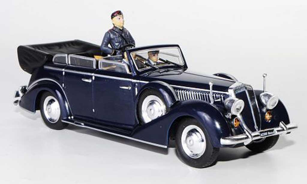 Lancia Astura 1/43 Starline IV Serie Ministeriale bleu mit Figuren 1938 miniature