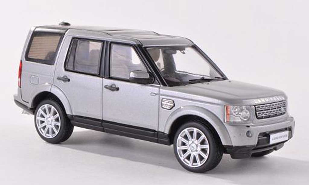 Land Rover Discovery 1/43 IXO 4 grise-grise RHD  2010 miniature