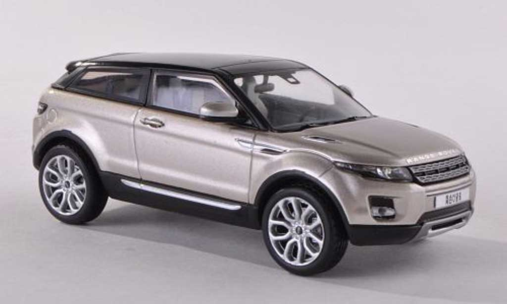 range rover evoque beige black 3 portes 2011 ixo diecast. Black Bedroom Furniture Sets. Home Design Ideas