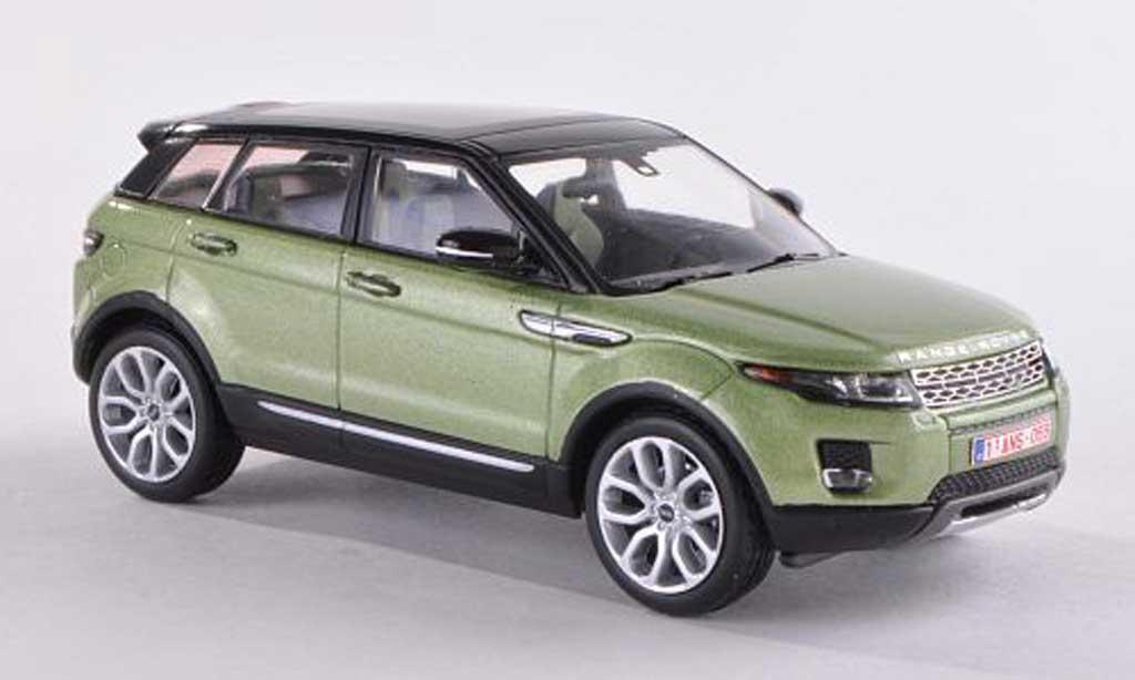 Range Rover Evoque 1/43 IXO clair-vert/noire 5-portes 2011 miniature