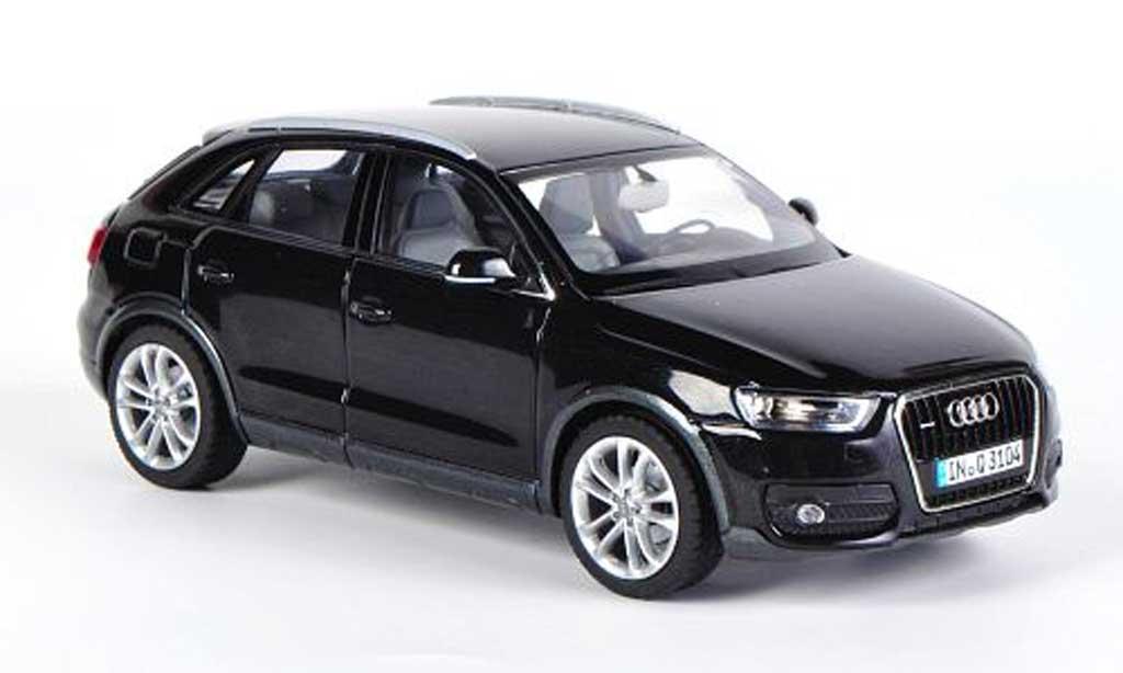 Audi Q3 schwarz Schuco. Audi Q3 schwarz modellauto