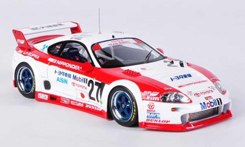 Toyota Supra GT LM 1/43 HPI Mirage No.27 Team Sard M.Apicella / M.Martini / J.Krosnoff 24h Le Mans 1995 miniature