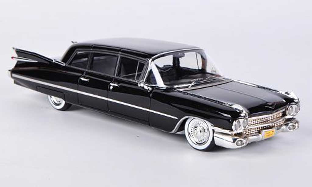 Cadillac Series 75 1/43 Kess Limousine noire 1959 miniature