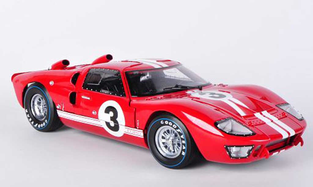 Ford GT40 1/18 Shelby Collectibles GT 40 MkII No.3 D.Gurney / Grant 1966 miniature