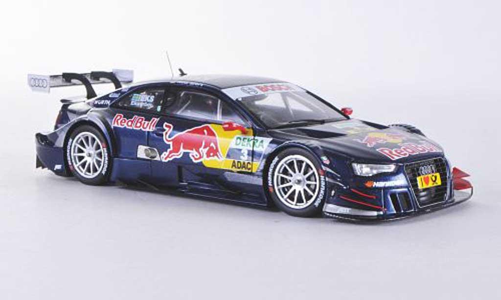 Audi A5 DTM 1/43 Spark No.3 Red Bull M.Ekstrom Saison 2012 miniature