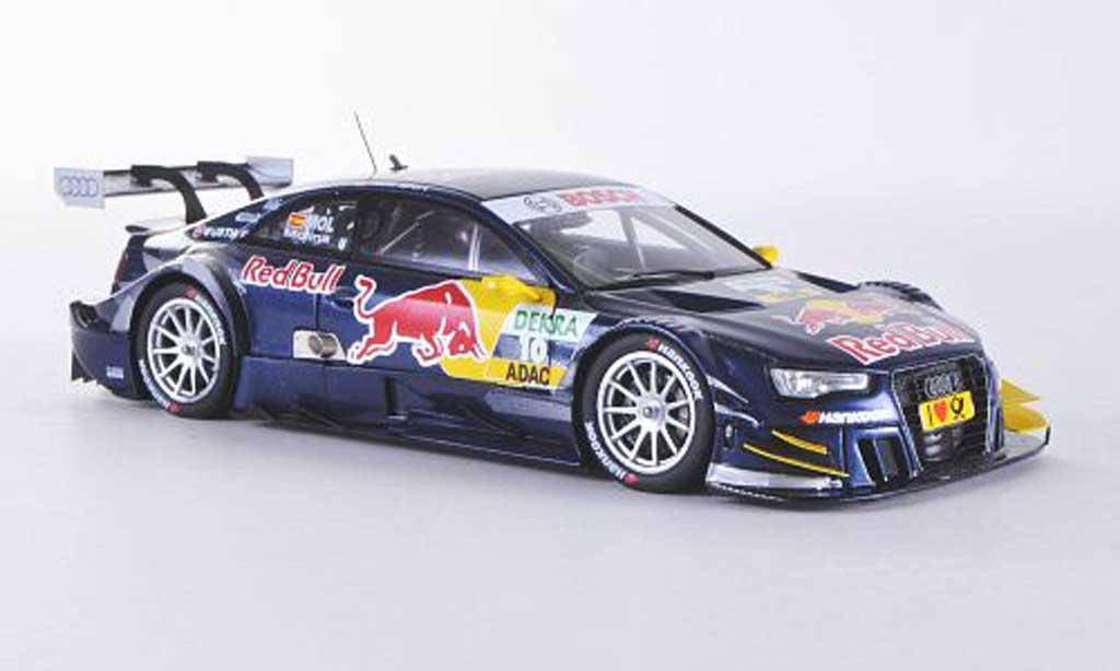 Audi A5 DTM 1/43 Spark No.10 Red Bull M.Molina Saison 2012 miniature