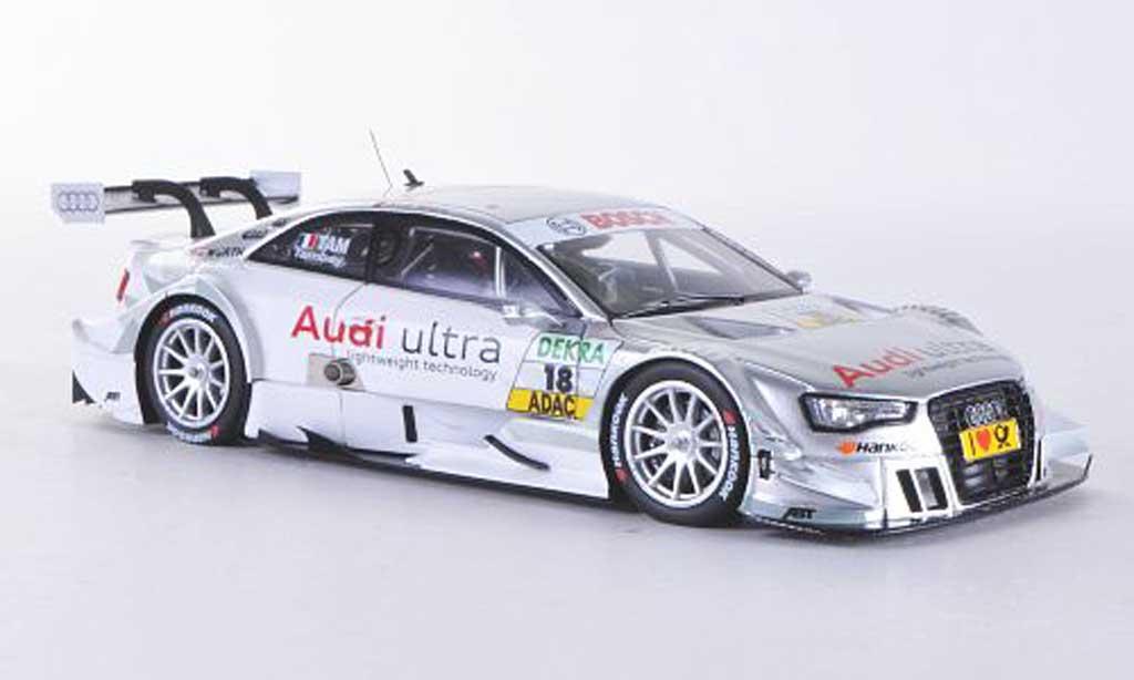 Audi A5 DTM 1/43 Spark No.18 ultra A.Tambay Saison 2012 miniature