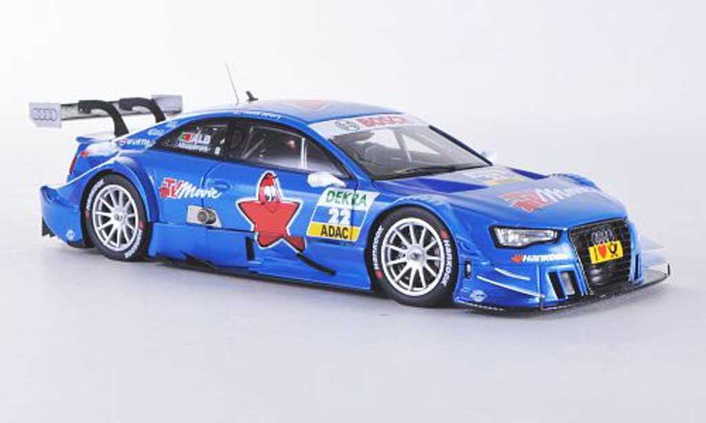 Audi A5 DTM 1/43 Spark No.22 TV Movie F.Albuquerque Saison 2012 F.Albuquerque