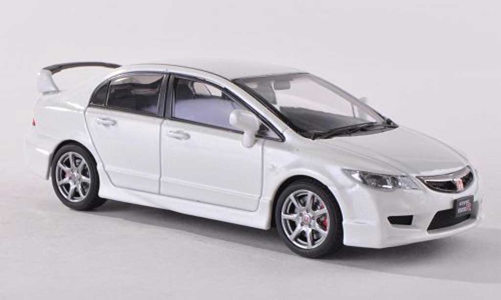honda civic type r fd2 weiss ebbro modellauto 1 43. Black Bedroom Furniture Sets. Home Design Ideas