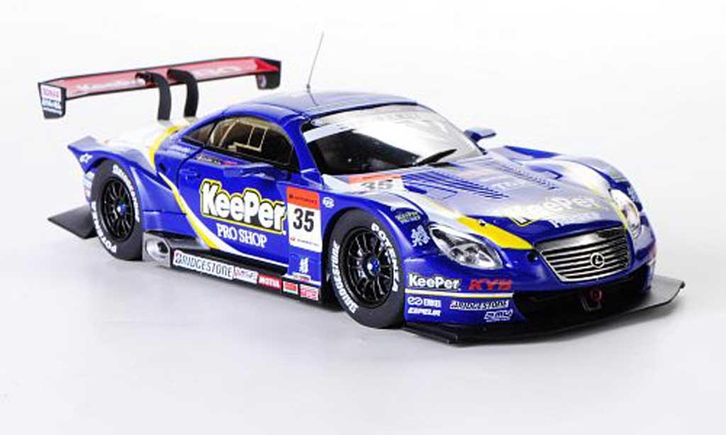 Lexus SC 430 1/43 Ebbro No.35 KeePer Kraft Y.Kunimoto / A.Caldarelli Super GT500 2012 miniature