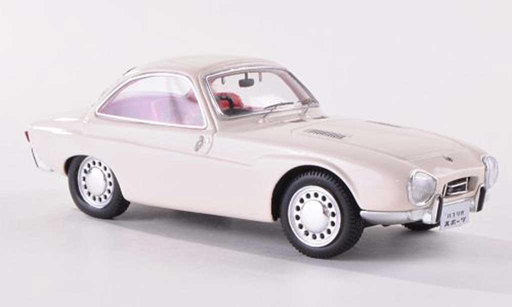 Toyota Publica Sports 1/43 Ebbro Tokyo Motor Show blanche 1962 miniature