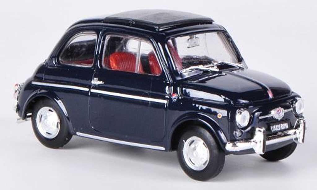 Fiat 590 1/43 Brumm Giannini GTR bleu Faltdach geschlossen 1972 diecast model cars