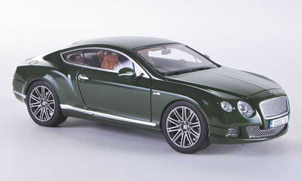 Bentley Continental GT 1/43 Look Smart Speed grun miniature