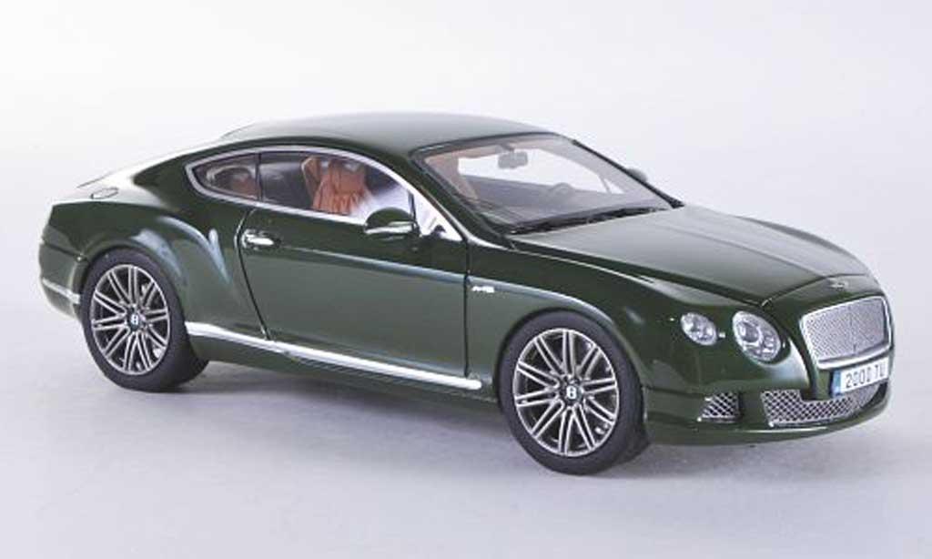 Bentley Continental GT 1/43 Look Smart Speed verte miniature