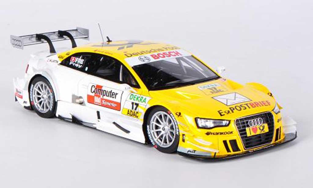 Audi A5 DTM 1/43 Spark No.17 Deutsche Post R.Frey -Saison 2012 miniature