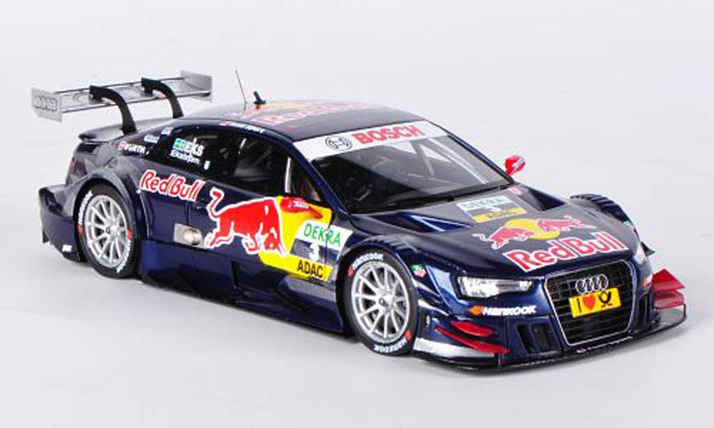 audi a5 dtm miniature no 3 red bull m ekstrom dtm saison 2012 spark 1 43 voiture. Black Bedroom Furniture Sets. Home Design Ideas