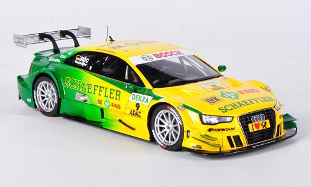 Audi A5 DTM 1/43 Spark No.9 Schaeffler M.Rockenfeller -Saison 2012 miniature