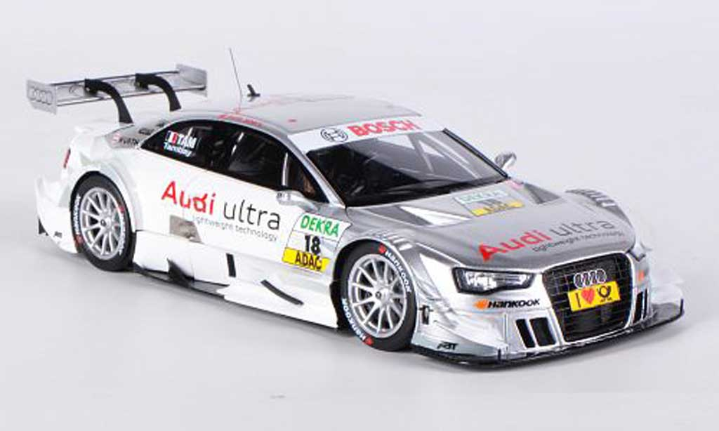 Audi A5 DTM 1/43 Spark No.18 Audi ultra lightweight technology A.Tambay DTM-Saison 2012 miniature