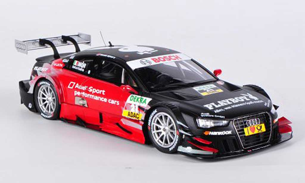 Audi A5 DTM 1/43 Spark No.21 Playboy E.Mortara DTM-Saison 2012 miniature