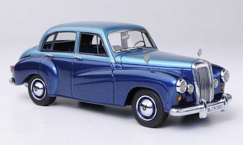 Daimler Conquest 1/43 Neo bleu/bleu LHD limitierte Auflage 300 Stuck 1953 miniature