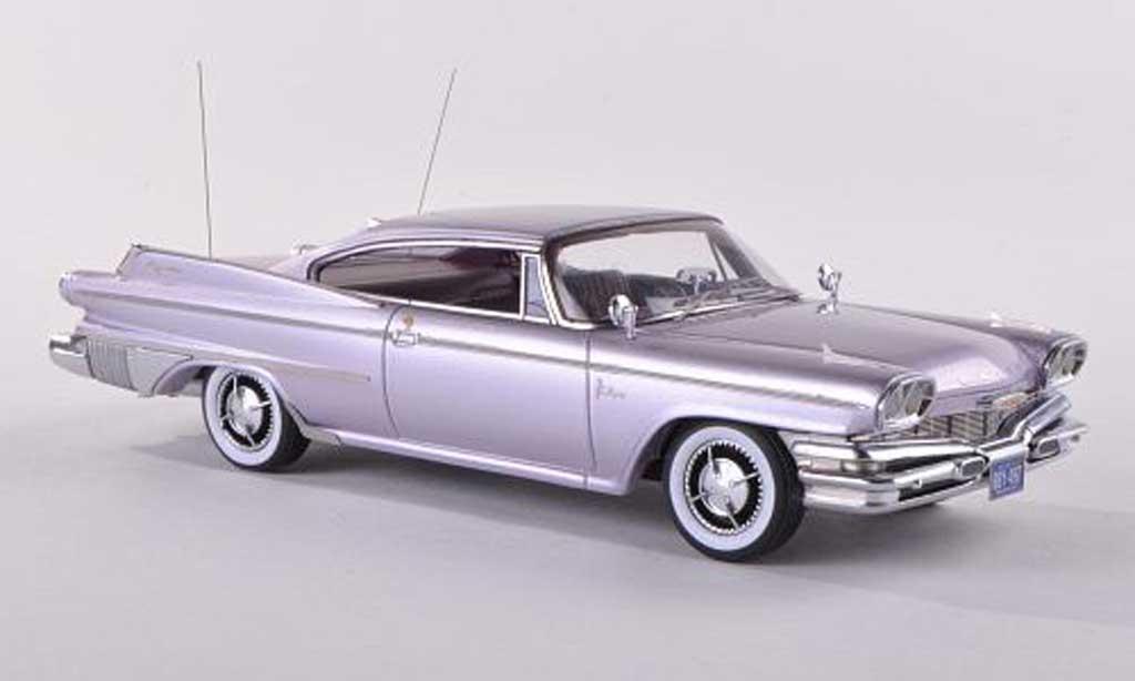 Dodge Polara 1/18 Neo 2-Door Hardtop Coupe clair-lila 1960 miniature