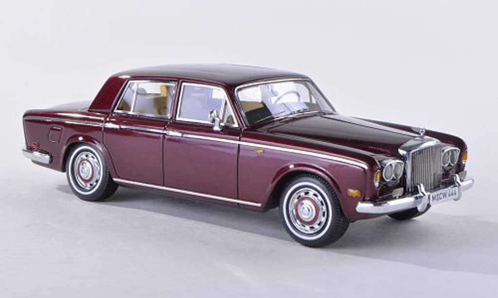 Bentley T1 1/43 Neo noire-rouge limitee edition 300 piece 1974 miniature