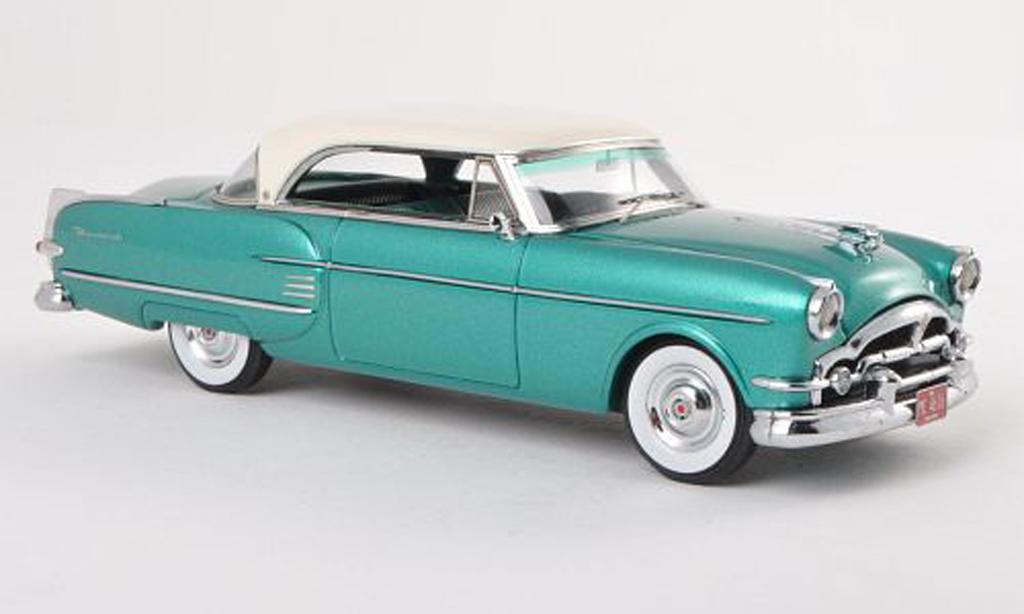 Packard Pacific 1/43 Neo 2-Door Hardtop Coupe vert/blanche limitee edition 300 piece 1954 miniature