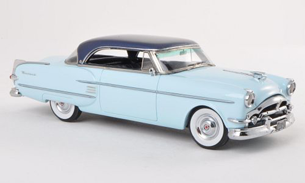Packard Pacific 1/43 Neo 2-Door Hardtop Coupe clair-bleu/noire-bleu 1954 miniature
