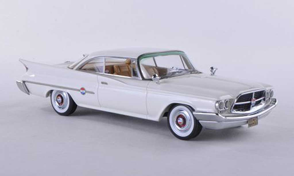 Chrysler 300F 1/43 Neo Coupe blanche 1960 miniature