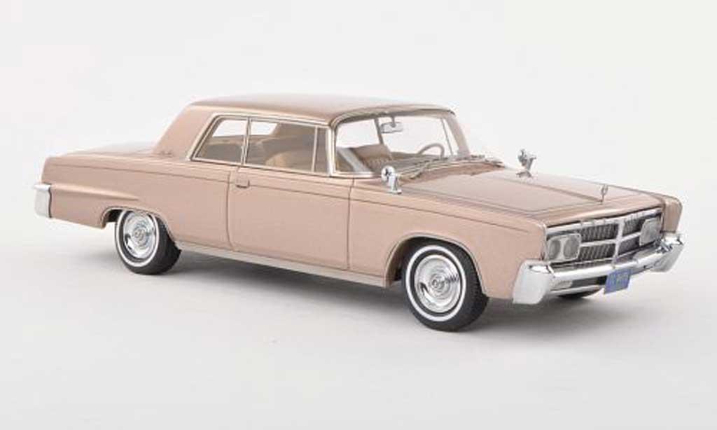 imperial crown miniature 2 door hardtop coupe beige 1965 neo 1 43 voiture. Black Bedroom Furniture Sets. Home Design Ideas