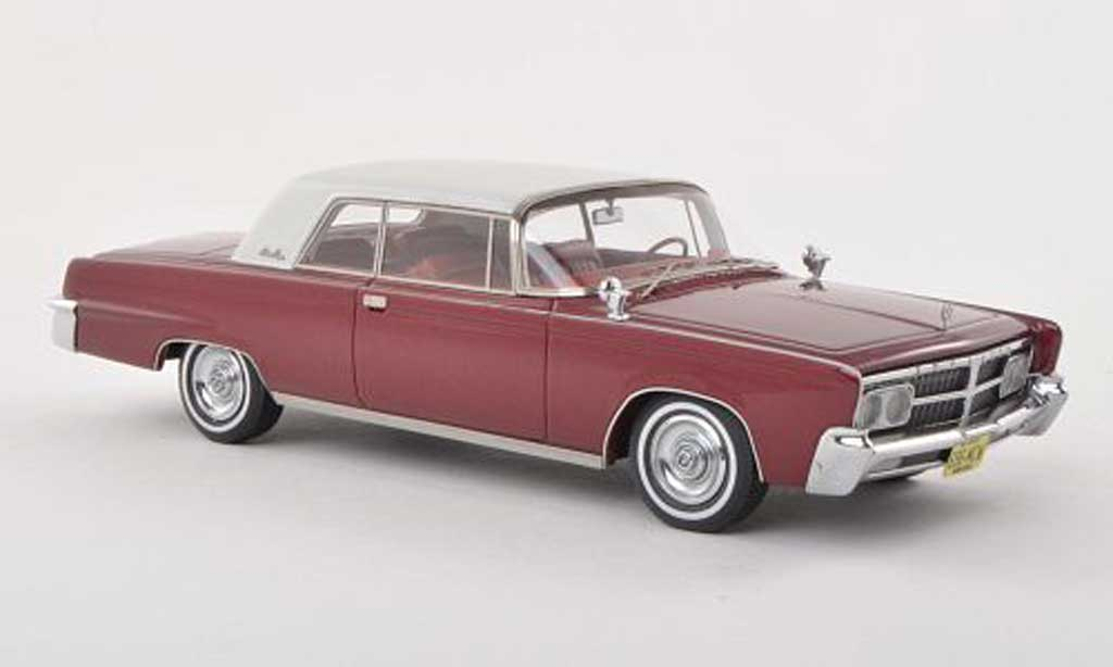 Imperial Crown 1/43 Neo 2-Door Hardtop Coupe noire-rouge/lumineuses-blanche 1965 miniature