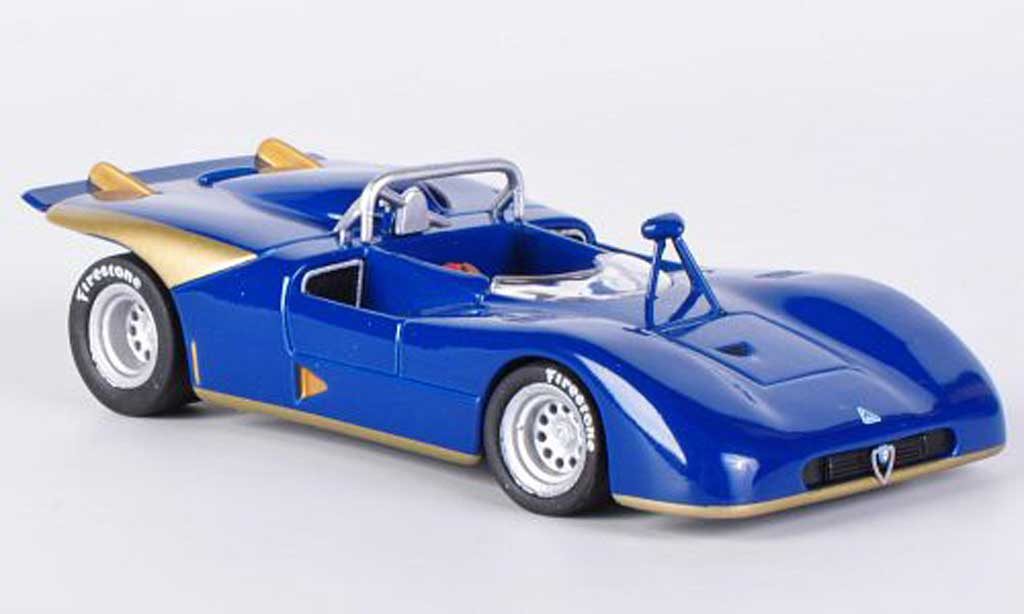 Alfa Romeo 33.3 1971 1/43 M4 bleu/gold miniature