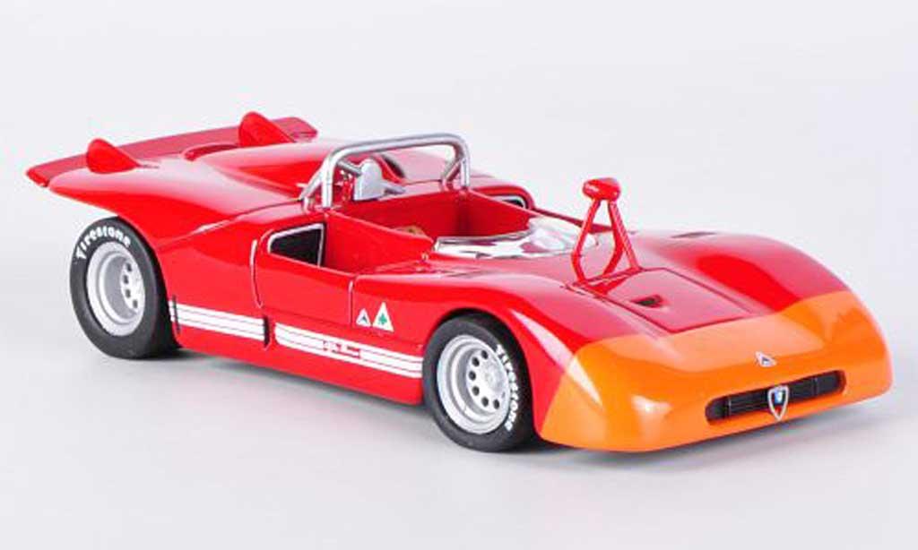 Alfa Romeo 33.3 1971 1/43 M4 rouge/orange miniature