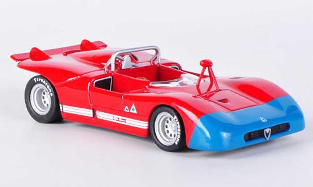 Alfa Romeo 33.3 1971 1/43 M4 rouge/bleu miniature