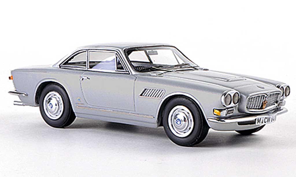 Maserati Sebring 1/43 Neo Serie II grise limitierte Auflage 300 Stuck 1966 miniature