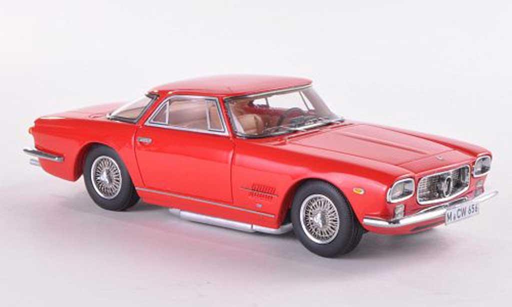 Maserati 5000 GT 1/43 Neo Allemano rouge limitierte Auflage 300 Stuck 1960 miniature