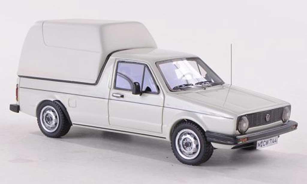 Volkswagen Caddy 1/43 Neo MK1 Kasten blanche 1981 miniature
