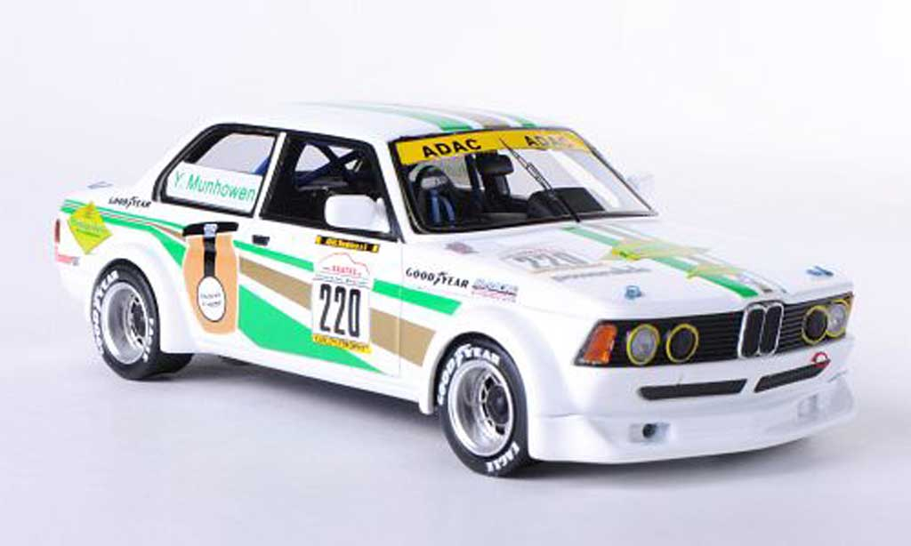 Bmw 323 1/43 Neo Gr.2 (E21) No.220 Moutarderie Y.Munhowen YoungtimerTrophy Hockenheim 2012 miniature