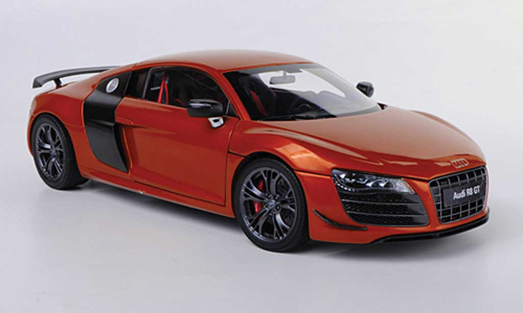 audi r8 gt orange kyosho modellauto 1 18 kaufen verkauf modellauto online. Black Bedroom Furniture Sets. Home Design Ideas