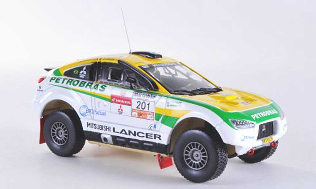 Mitsubishi Racing Lancer 1/43 Vitesse No.201 G.Spinelli / H.Youssef Rally dos Sertoes 2012 miniature