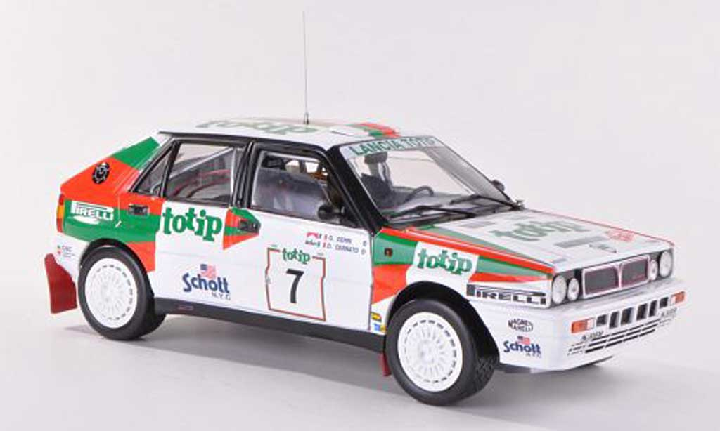 Lancia Delta HF Integrale 1/18 Sun Star No.7 Totip Rally Sanremo 1988 miniature