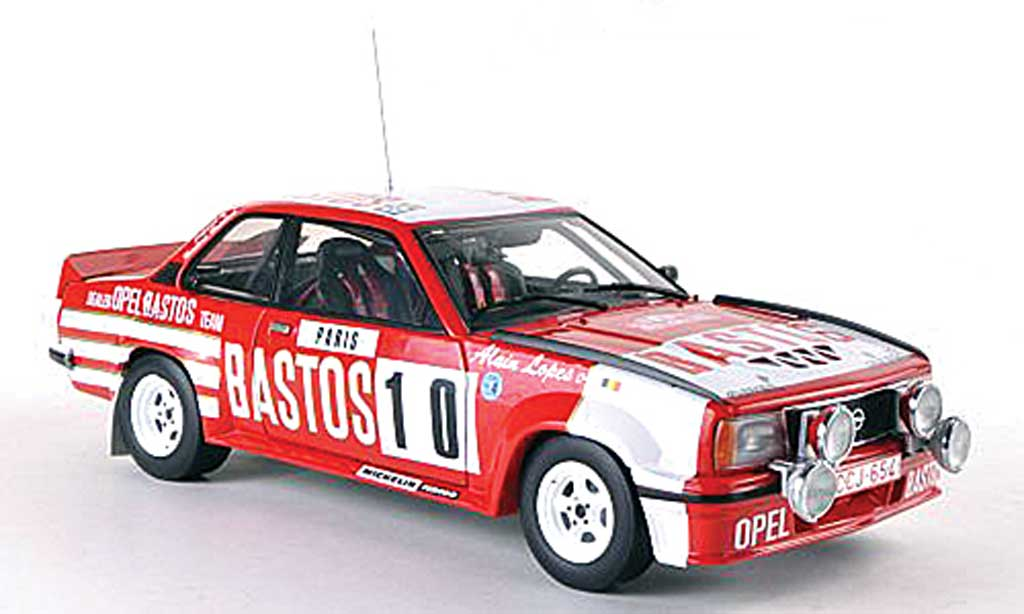 Opel Ascona B 1/18 Sun Star 400 No.10 astos Rally Monte Carlo 1982 G.Calsoul/A.Lopes miniature