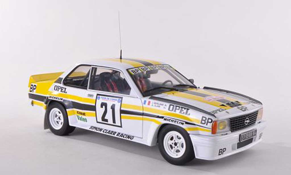 Opel Ascona 400 1/18 Sun Star No.21 BP Tour de Corse  1982 J.L Clarr/J.Sevelinge miniature