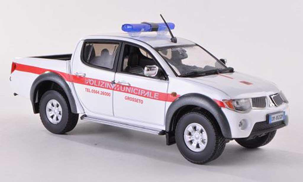 Mitsubishi L200 1/43 Vitesse Polizia Municipale Grosseto Polizei (I)