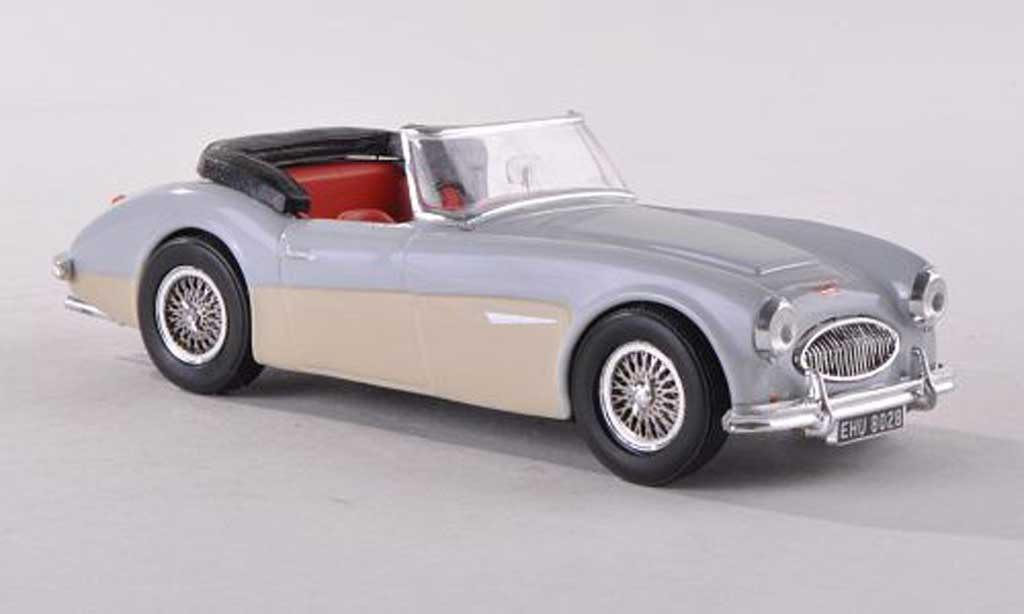 Austin Healey 3000 1/43 Vitesse ougrun gris/beige RHD miniature