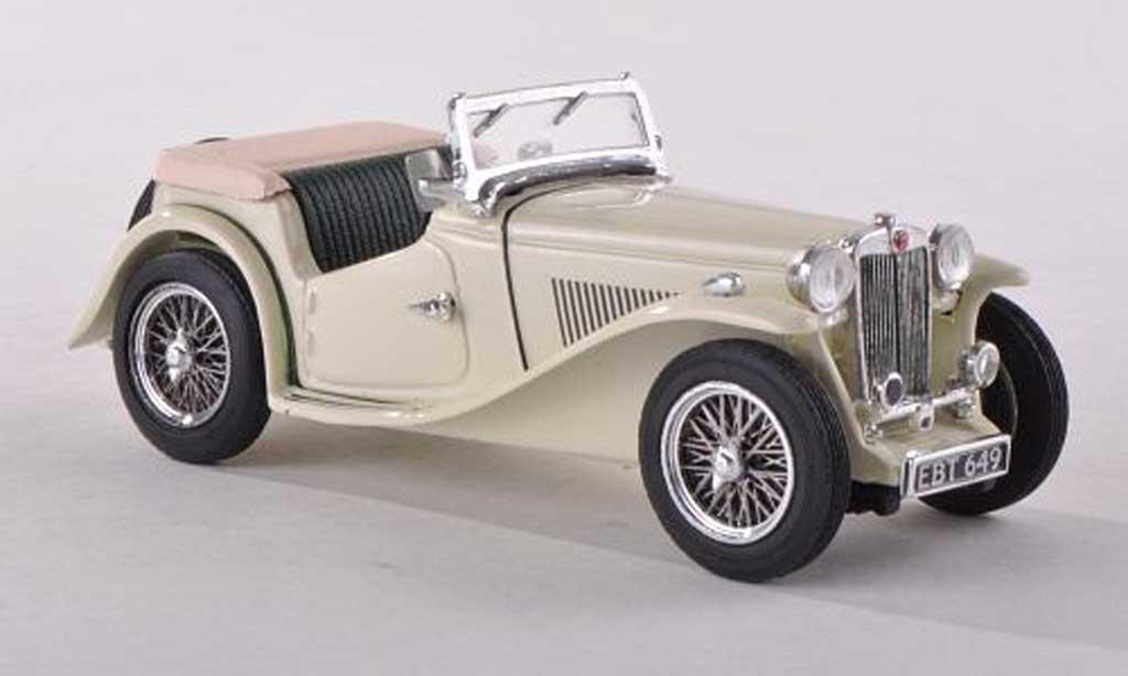 MG TC 1/43 Vitesse ougrun beige RHD miniature