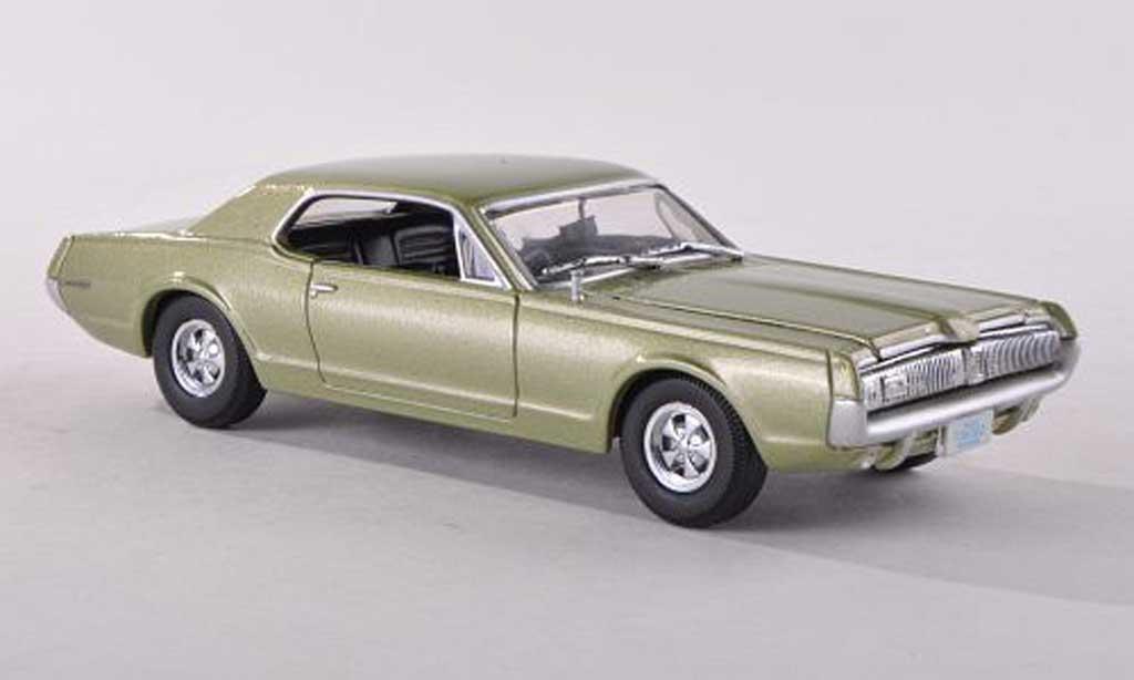 Mercury Cougar 1/43 Vitesse verte 1967 miniature