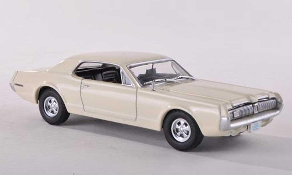 Mercury Cougar 1/43 Vitesse creme blanche  1967 miniature