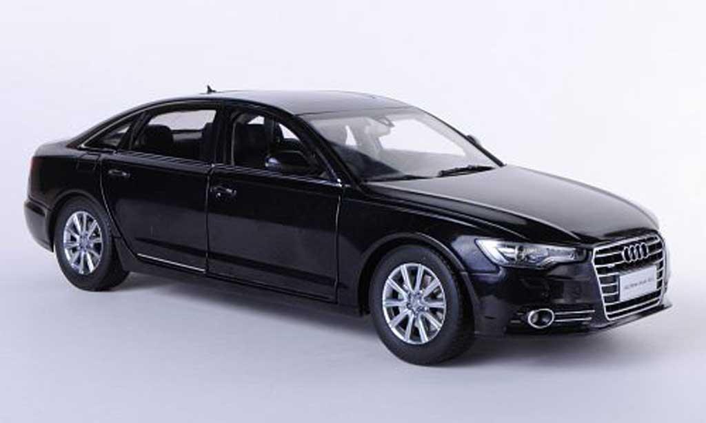 Audi A6 2012 1/18 Paudi (C7) noire Asien-Version 2012 miniature